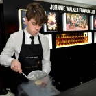Zachary De Git creates Johnnie's Popcorn Colada at the Johnnie Walker Flavour Lab