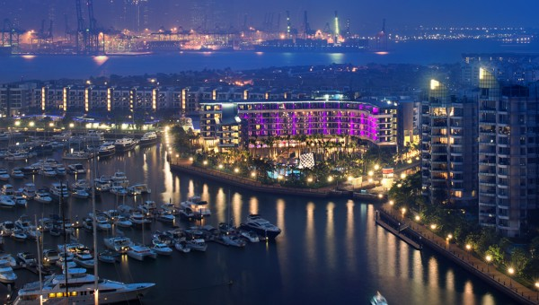 W Singapore - Sentosa Cove - Bird's Eye View