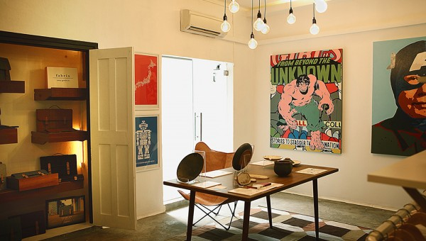 First Storey, a Multi-label Menswear Pop-up Concept Store - Interior Decor