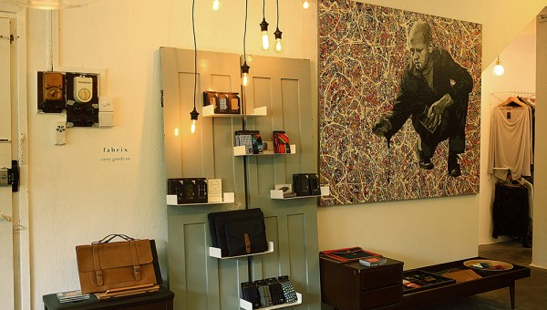 First Storey, a Multi-label Menswear Pop-up Concept Store - The Furniture & Finishing