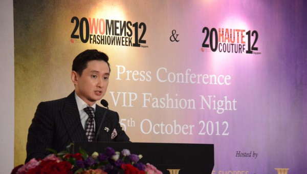 Frank Cintamani, Women's Fashion Week and Haute Couture Week 2012 Singapore's Chairman and Founder of Fide Fashion Weeks