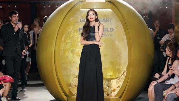 Goldheart MODE Gold Launch - Andrea Fonseka stepped out from the Golden Globe