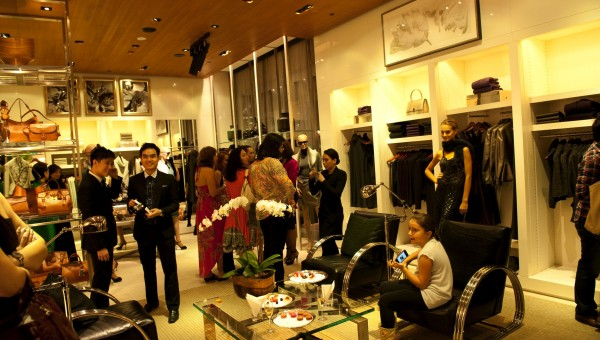 VIP Fashion Night at The Shoppes - Guests at Ralph Lauren