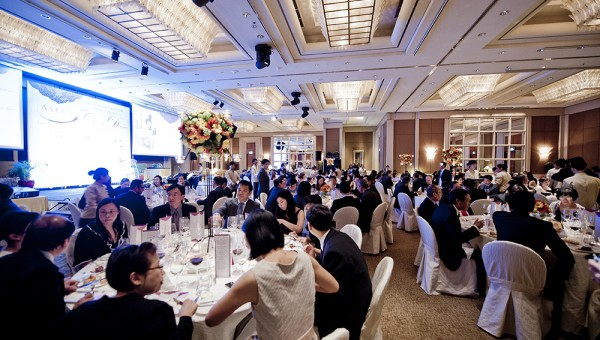 Asian Masters Charity Dinner 2012 - Event Hall