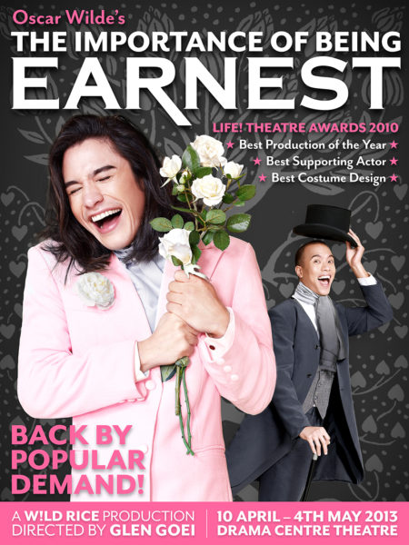 Importance of Being Earnest - Poster