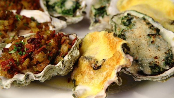 Oyster Bar - Baked Oyster Selections