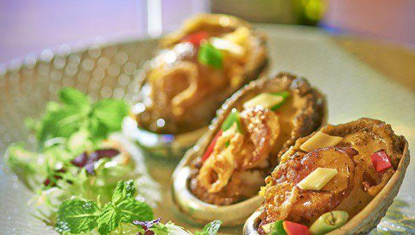 ME@OUE - Pan-seared abalone