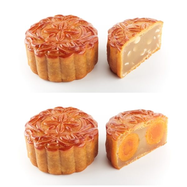 Canele Traditional Mooncakes 2013 - Melon Seed & Double Yolk