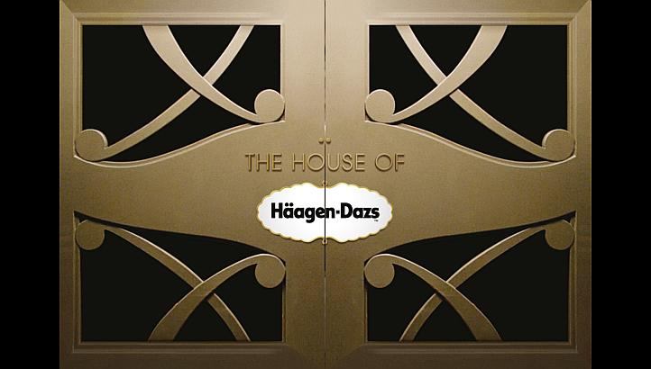 House of Haagen Dazs at The Podium Lounge 2013