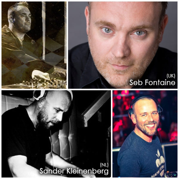 The Podium Lounge 2013 - DJs Seb Fontaine (UK) and Sander Kleinenberg (NL)