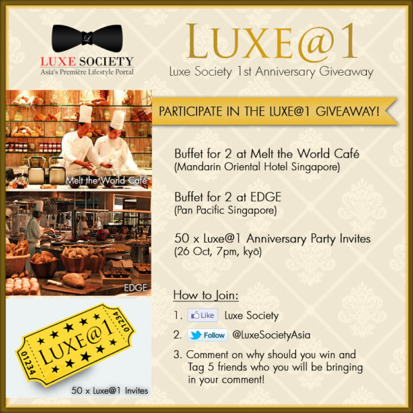 Luxe@1 - Luxe Society First Anniversary Celebrations