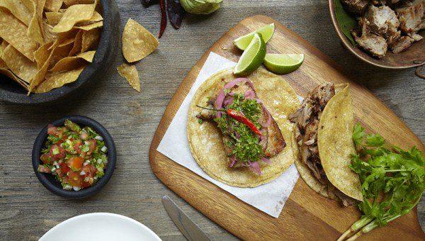 Señor Taco Clarke Quay - Carnitas Tacos