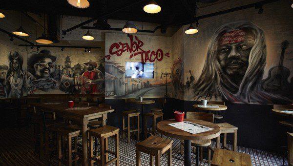Señor Taco Clarke Quay - Interior 2