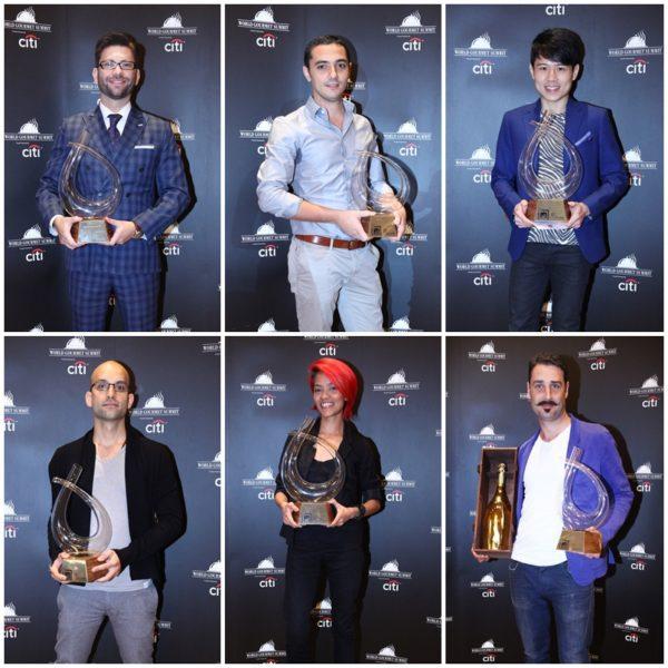 2014 World Gourmet Summit - Distinguished Winners