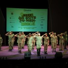 Ah Boys To Men: The Musical Press Conference - Recruits Falling In