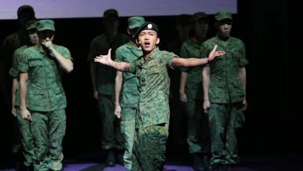 Ah Boys To Men: The Musical Press Conference - Sergeant Alex Ong