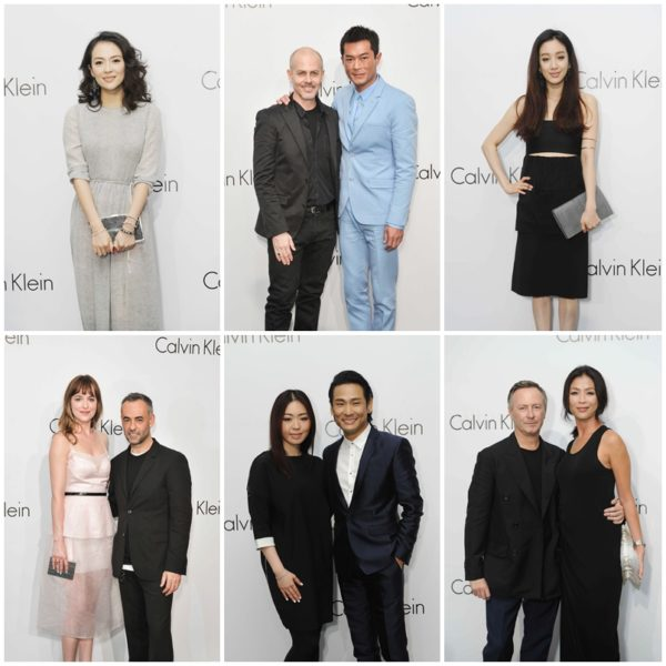 Calvin Klein Singaapore - Concept House - Actors, Celebrities and Notables
