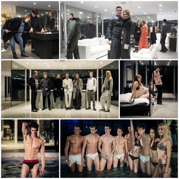 Calvin Klein Singapore - Concept House - Models in Calvin Klein Collections