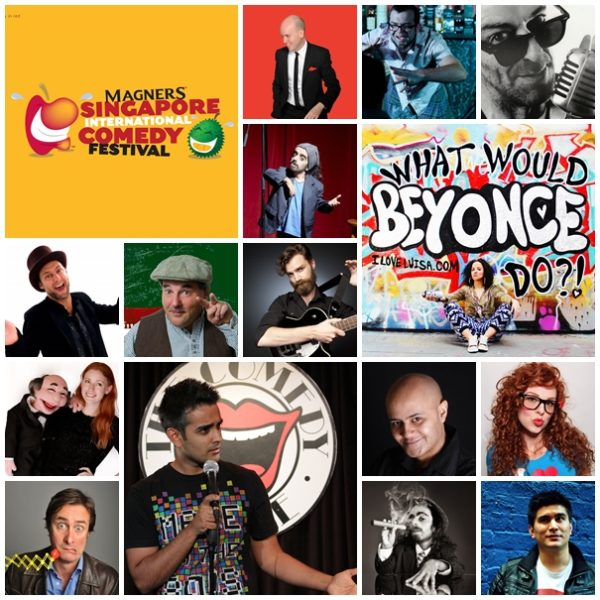 Magners Singapore International Comedy Festival 2014 - Acts