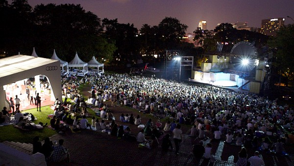 Shakespeare in the Park - Audiences