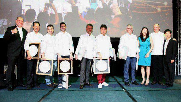 World Gourmet Summit 2014 - Masterchefs' Appreciation Plate Presentation