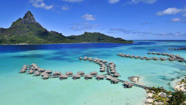 InterContinental Bora Bora Resort - Aerial View