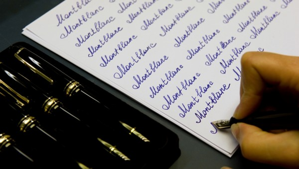 Montblanc Meisterstuck - Art of Writing Masterclasses