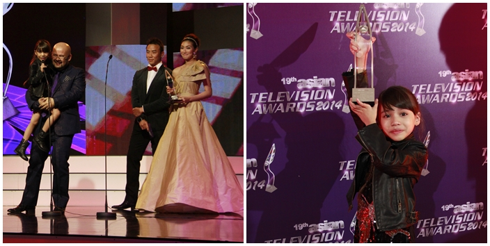Asian TV Awards Puteri Balqis Azizi