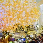 Pan Pacific Singapore Atrium NYE Balloon Drop