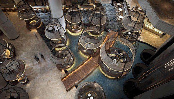 Pan Pacific Singapore Lobby and Atrium Bar & Lounge