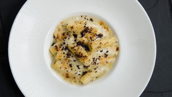 Catalunya Rigatoni with Truffle and Parmesan Cheese