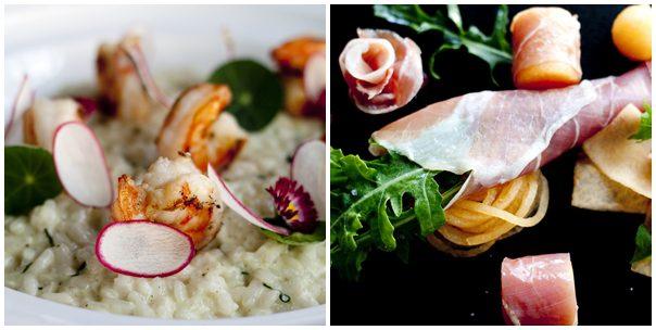 Picotin Express - Basil Risotto & Parma Ham Rock Melon Salad