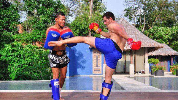 Thai Boxing Sri Panwa Phuket Luxury Pool Villa Thailand