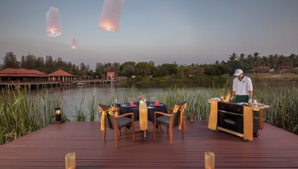 Banyan Tree Lagoon Pool Villa BBQ