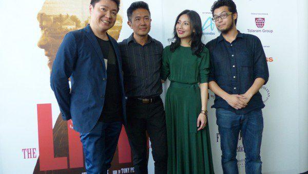 Sebastian Tan, Adrian Pang, Sharon Au and Benjamin Chow at the Press Conference of LKY Musical