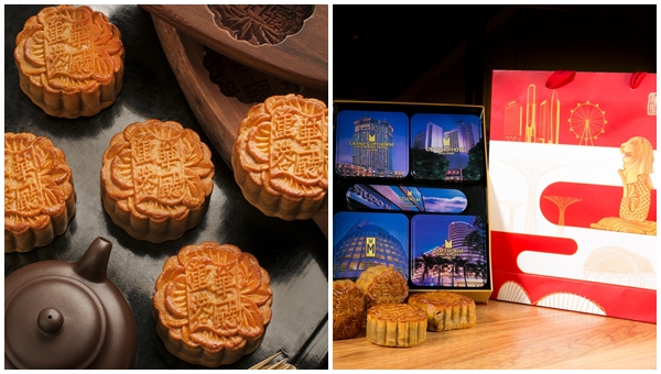 Orchard Hotel SG50 Mid Autumn Baked Mooncakes 2015