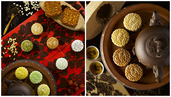 Regent Singapore A Four Seasons Hotel Summer Palace Mid Autumn Snowskin Mooncakes 2015