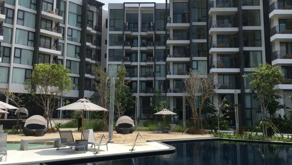 Cassia Phuket Landscape View of Hotel and Serviced Apartments
