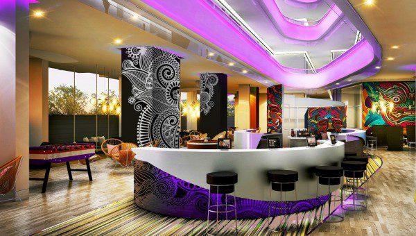 Cassia Phuket Lobby Rendering