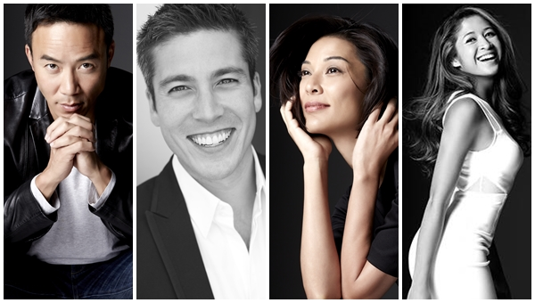 20th Asian Television Awards Hosts Allan Wu, Max Loong, Joey Mead King and Munah Bagharib