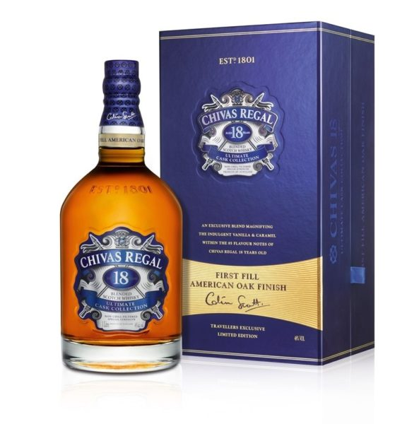 Chivas 18 Ultimate Cask Collection Giftbox