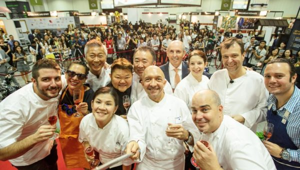 Epicurean Market  Chefs selfie