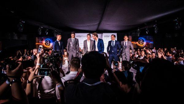 F1 Drivers Fashion show