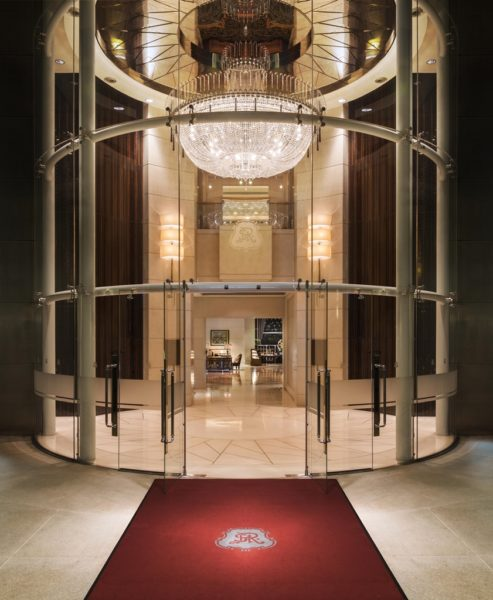 The St. Regis Singapore Entrance