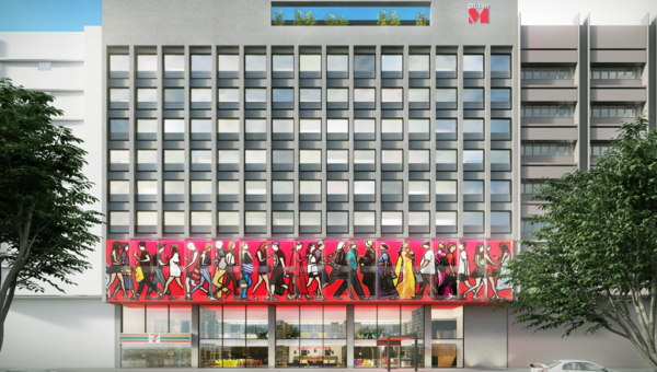 citizenM KL rendering
