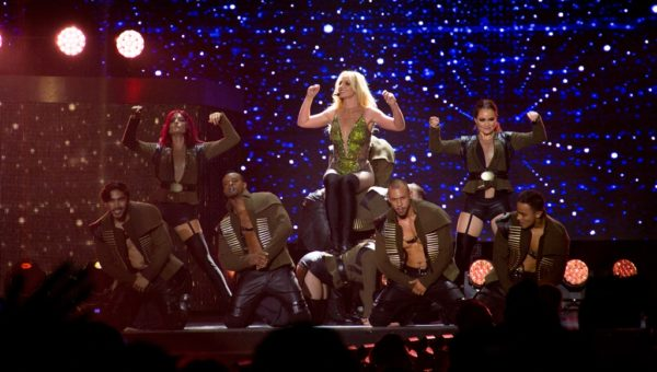 Britney Spears Live in SG-15
