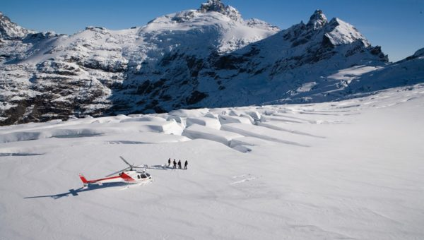 Experience_Heli-Skiing_Clarke Glacier Queenstown_Source - Glacier Southern Lakes Helicopters