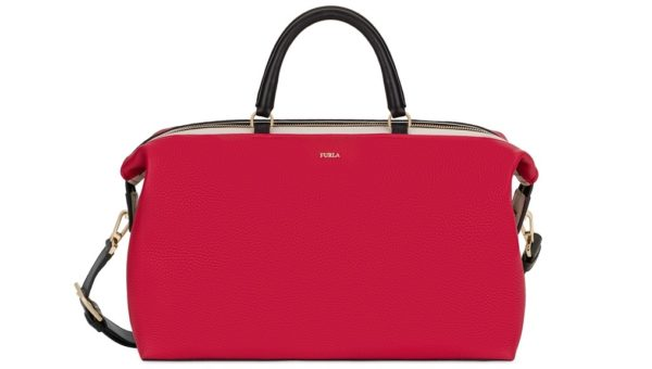 BLOGGER M SATCHEL BKR6 Ruby+Petalo $940 (2)