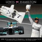 CHARITY AUCTION - SIGNED RACING GLOVE BY 3 TIME F1 WORLD CHAMPION LEWIS HAMILTON