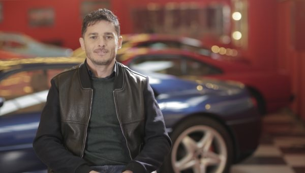GIANCARLO FISICHELLA - F1 LEGEND, HOST + DJ OF THE PODIUM LOUNGE